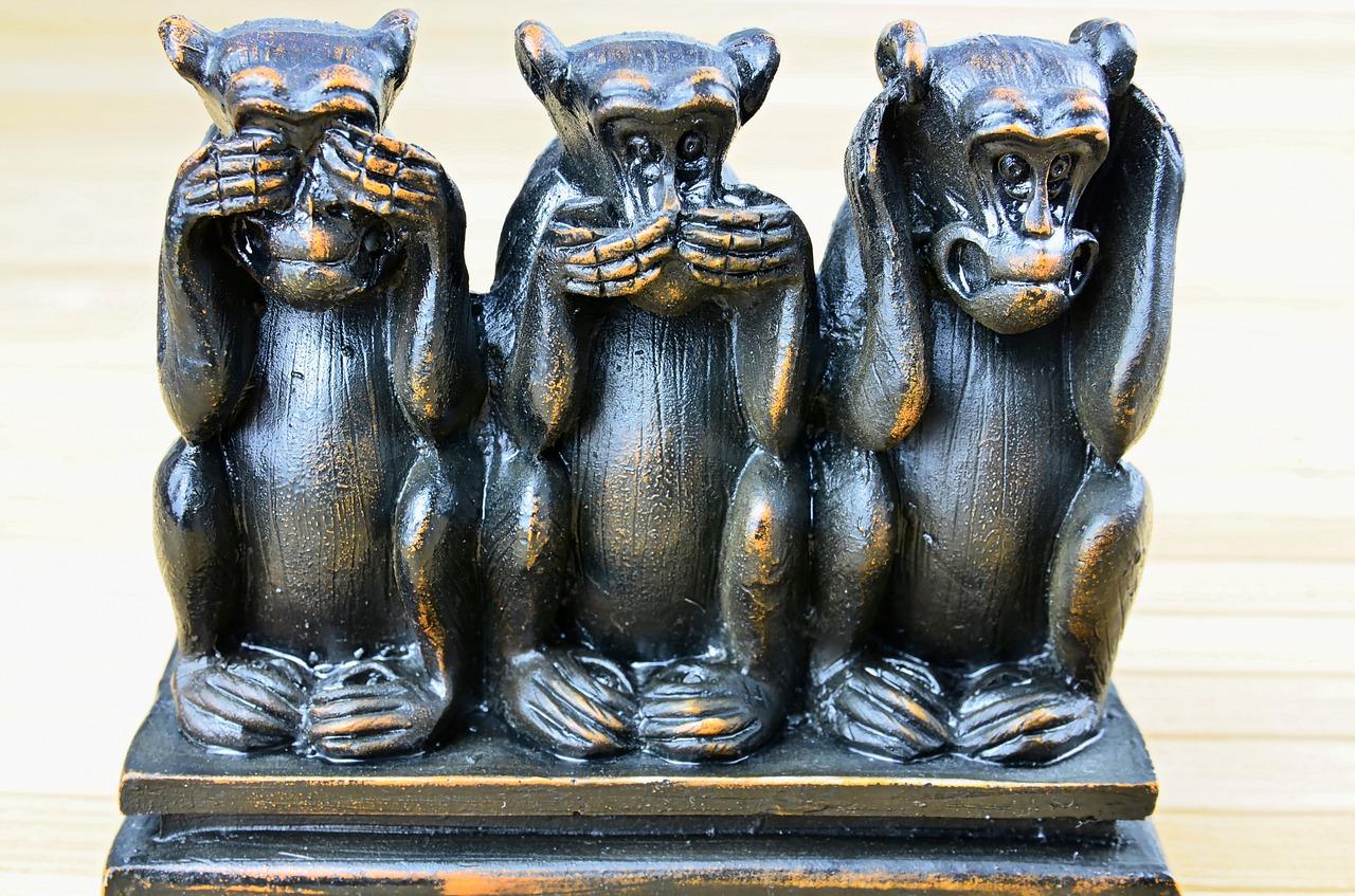 three-monkeys-1212621_1280